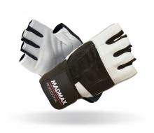 Fitness rukavice Madmax Professional White