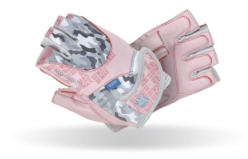 Dámské fitness rukavice Madmax No Matter Pink - M