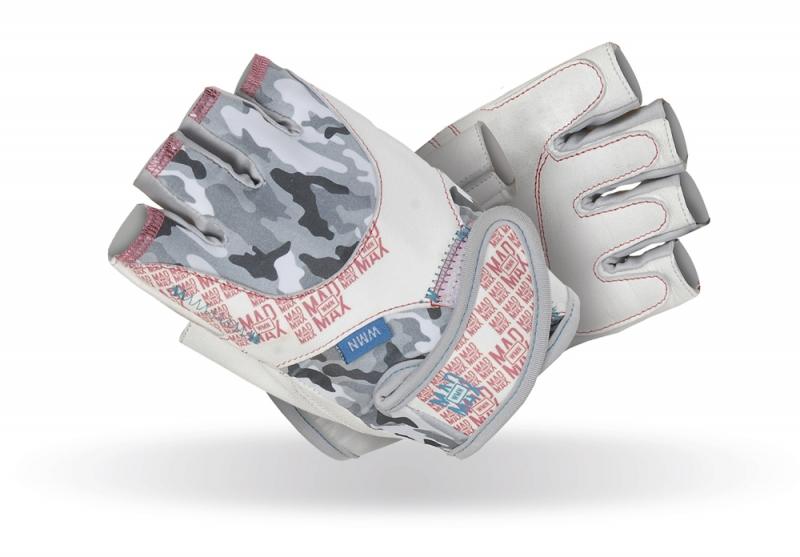 Dámské fitness rukavice Madmax No Matter White - M