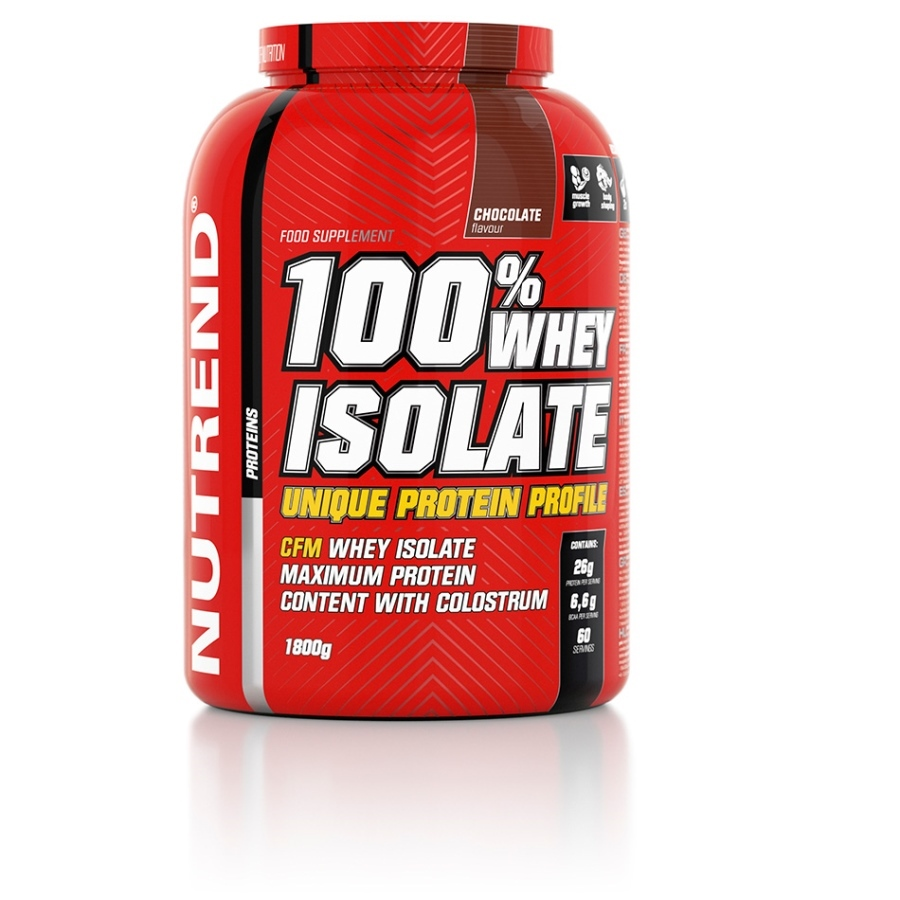Nutrend 100% Whey Isolate 1800 g - banán