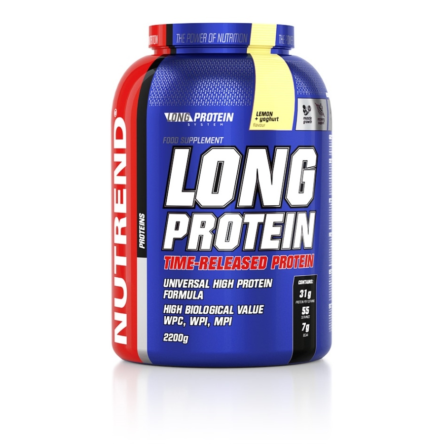 Nutrend Long Protein 2200 g - marcipán
