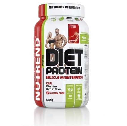 Nutrend Diet Protein 560 g - banán