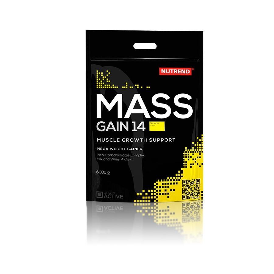 Nutrend Mass Gain 14 6000 g - banán