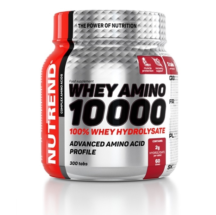 Nutrend Whey Amino 10000 - 300 tbl