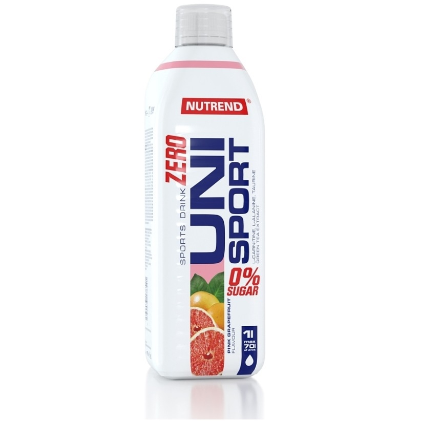 Nutrend UNIsport Zero - 1000 ml - bitter lemon