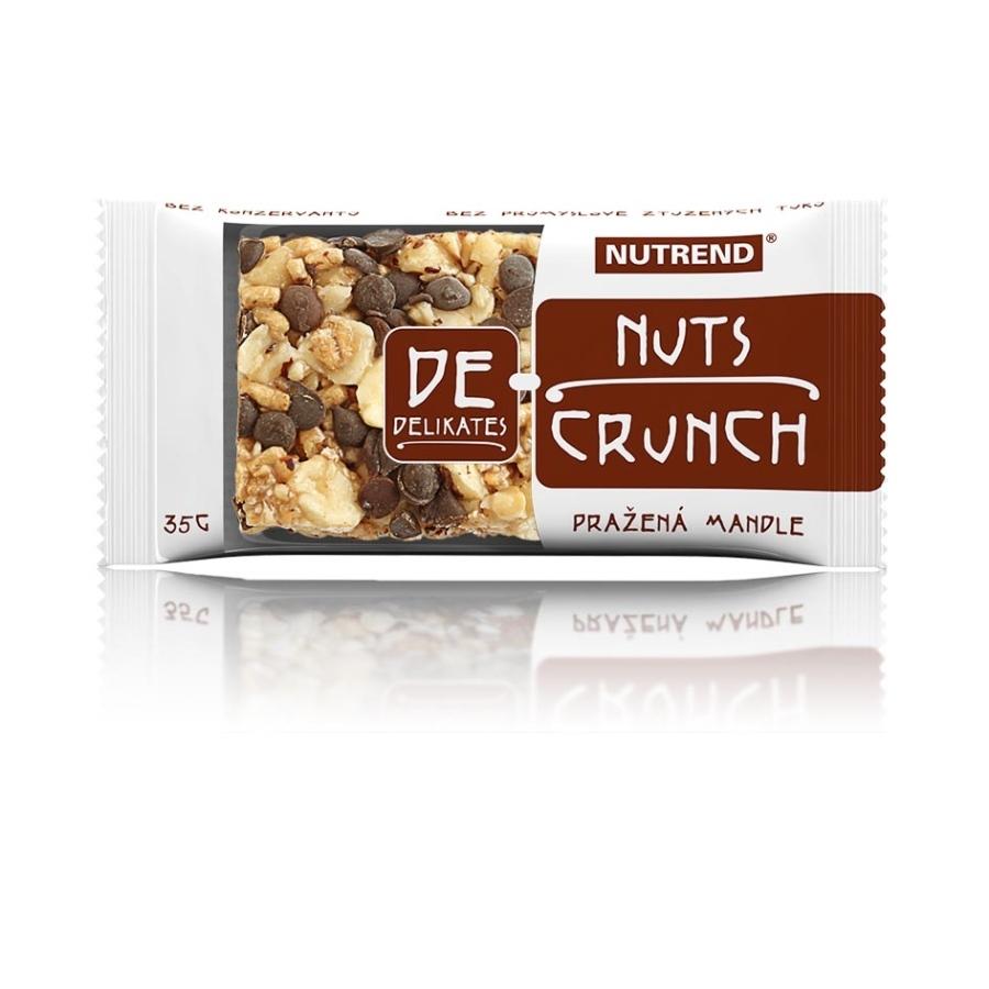 Nutrend DeNuts Crunch - 35 g - lískový oříšek