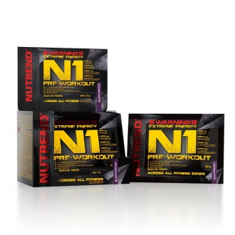 Nutrend N1 Pre-Workout - 10x17 g