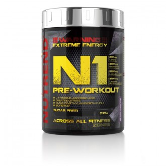 Nutrend N1 Pre-Workout - 510 g