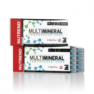 Nutrend Multimineral Compressed Caps - 60 cps