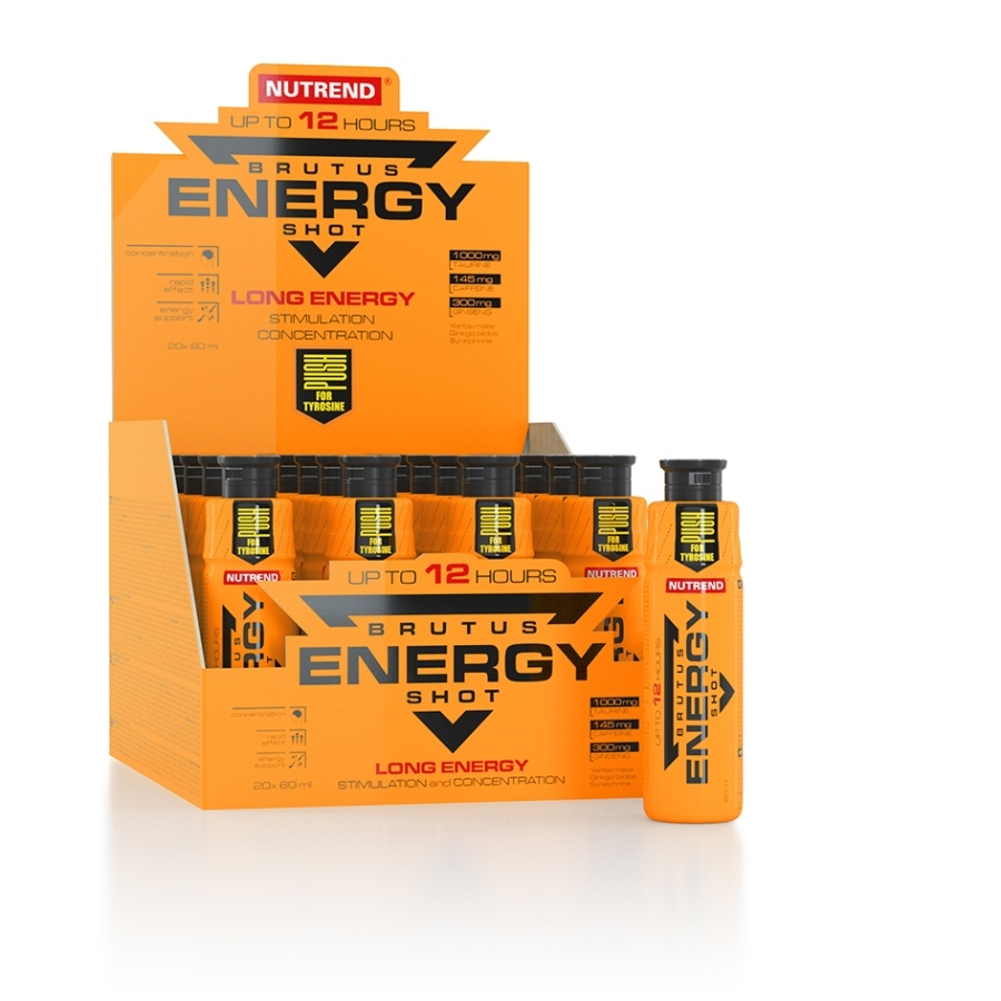 Nutrend Brutus Energy Shot 20 x 60 ml