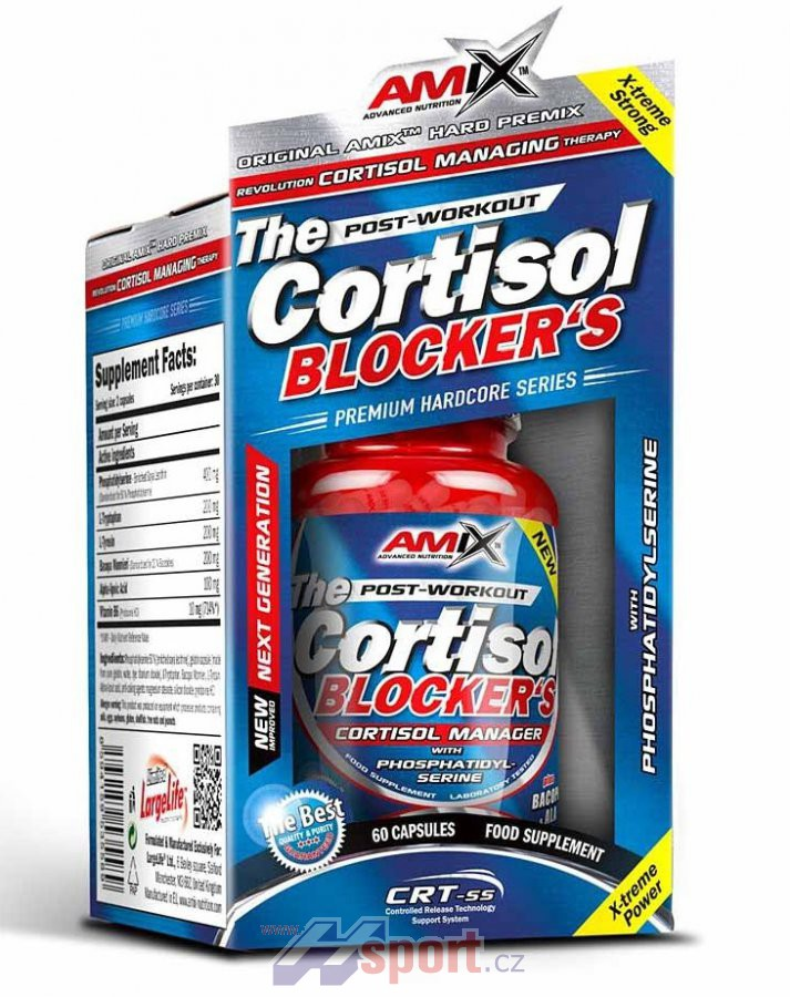 Amix The Cortisol Blockers 60 cps