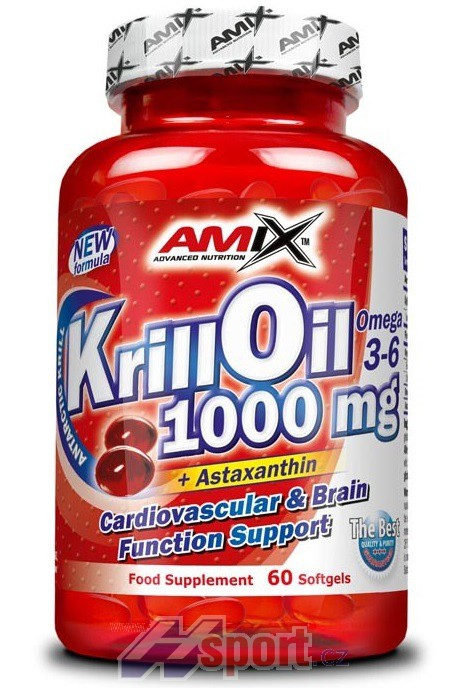 Amix Krill Oil 1000 - 60 cps