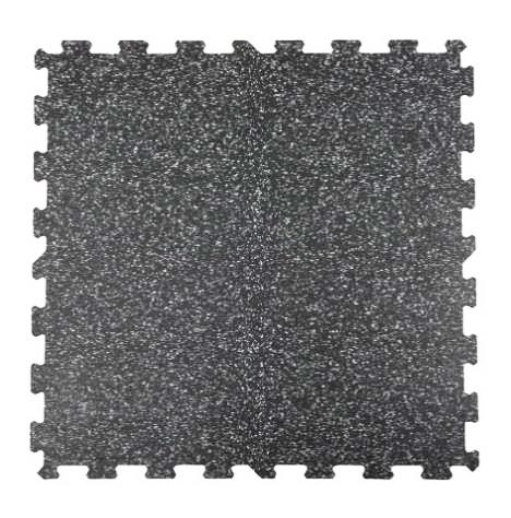 Attack Sportovní podlaha Puzzle 8 mm, 1 x 1 m - barevný vsyp 40% - červená