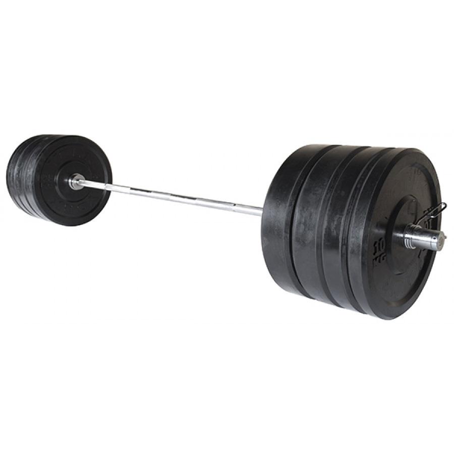 Činkový set Attack Bumper 100 kg
