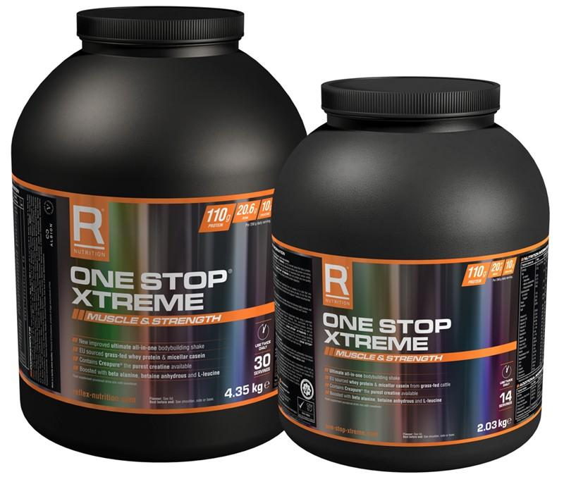 Reflex Nutrition One Stop Xtreme 4,35 kg + 2,03 kg zdarma - čokoláda