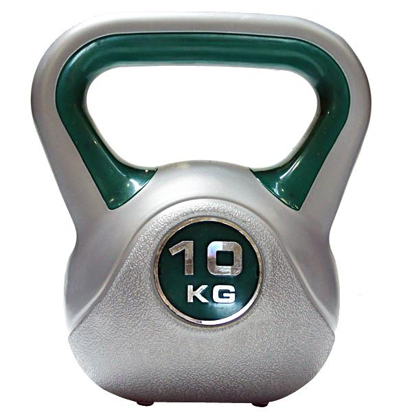Kettlebell 10 kg - šedá