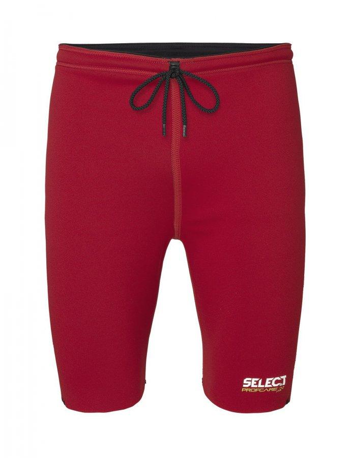 Termální šortky Select neoprénové 6400 červené - L
