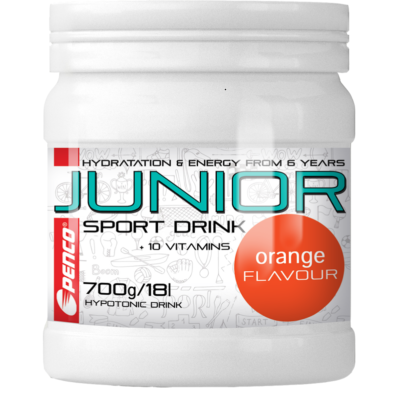Penco Junior Sport Drink 700 g - citron