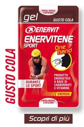 Enervit Sport Gel 25 ml (2x12,5 ml) One Hand - cola