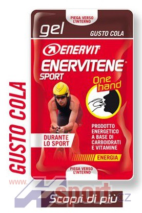 Enervit Sport Gel 25 ml (2x12,5 ml) One Hand