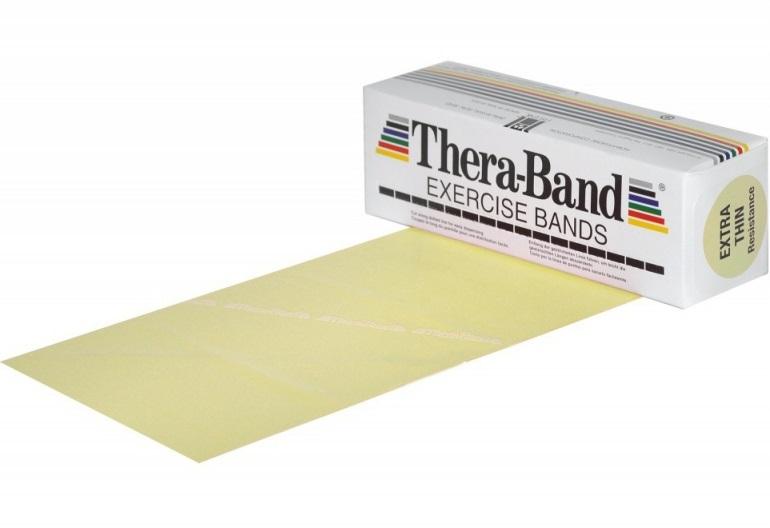 Posilovací guma TheraBand 5,5 m béžová