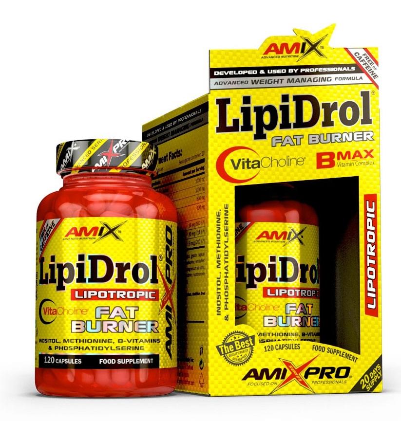Amix LipiDrol Fat Burner 120 cps