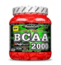 Amix MuscleCore BCAA with Pepform 240 tbl