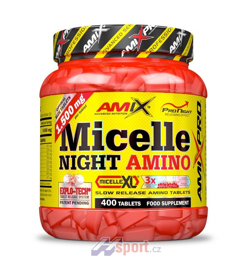 Amix Micelle Night Amino 400 tbl