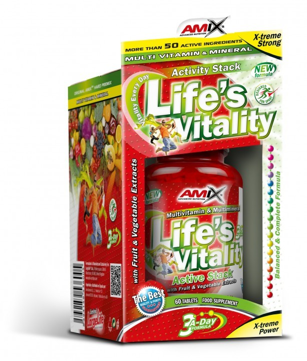 Amix Life's Vitality Active Stack 60 tbl