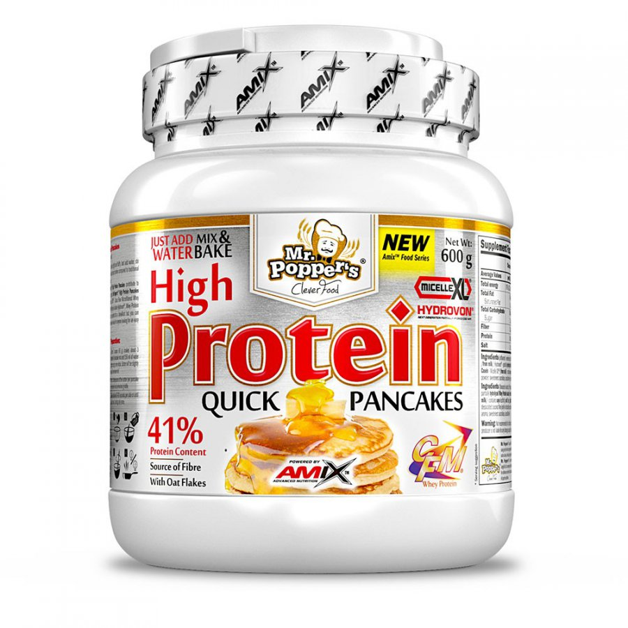 Amix High Protein Pancakes 600 g - natural