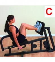 G3S BS Home Gym - leg press