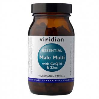 Viridian Essential Male Multi with CoQ10  Zinc 90 cps