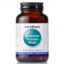 Viridian Essential Female Multi 60 cps