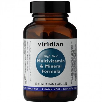 Viridian High Five Multivitamin & Mineral Formula 60 cps