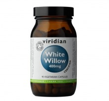 Viridian Organic White Willow Bark 400 mg 90 cps