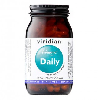 Viridian Synbiotic Daily 90 cps