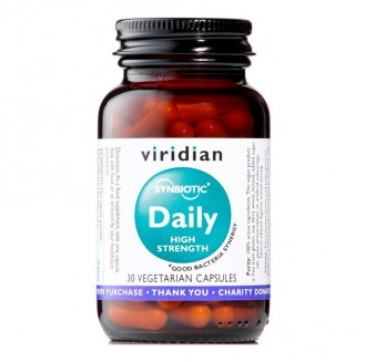 Viridian Synbiotic Daily High Strength 30 cps